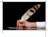 Faire la rédaction des textes